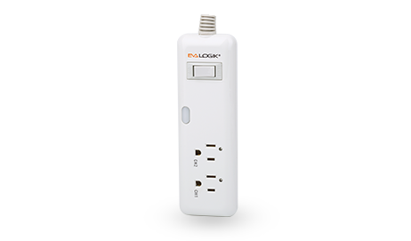 t2 outlet power strip