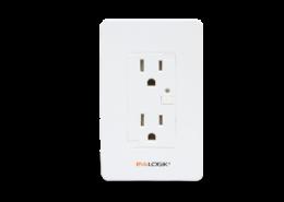 z-wave in wall smart duplex receptacle